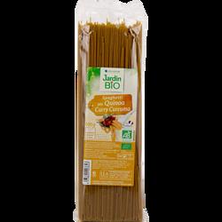 Spaghetti quinoa curry JARDIN BIO, 500g