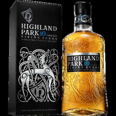 Scotch Whisky single malt 10 ans HIGHLAND PARK, 40°, bouteille de 70cl+ étui