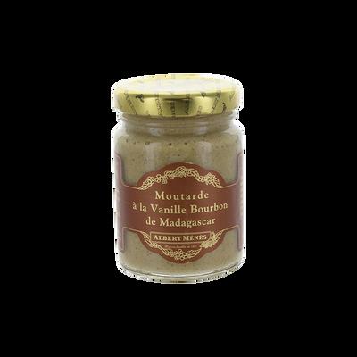 Moutarde à la vanille Bourbon ALBERT MENES,100g
