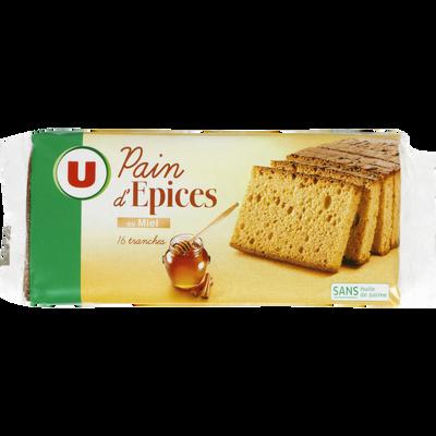 Pain d'épices au miel U, paquet de 350g