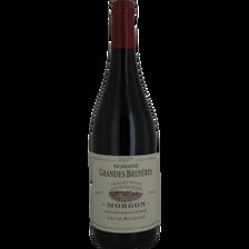 Vin rouge Morgon AOP DOMAINE GRAND BELLEVUE, bouteille de 75cl