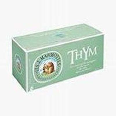 "Les 2 Marmottes ""THYM"" boite 30 sachets , 35 g"