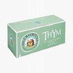 Infusion Thym, MES 2 MARMOTTES, la boite de 30 sachets, 35g.