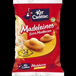 Madeleines moelleuses extra KER CADELAC, sachet de 600g