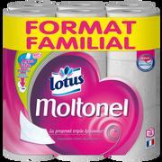 Lotus Papier Toilette Extrait De Lotus Aquatube Moltonel Lotus, 18 Rouleaux