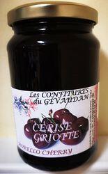 Confiture de cerise griotte, Les Ruchers des barons d'Apcher, 450g