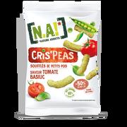 [N.A!] Nature Addicts N.a! Cris'peas Saveur Tomate Et Basilic, 50g