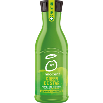 Absorba Innocent Plus Green Star (pomme, Poire, Concombre, Matcha) 750ml