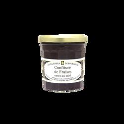 Confiture de fraises au miel RUCHERS DE BOURGOGNE, 375g