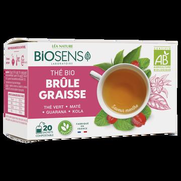 Léa Nature Thé Brule Graisses Bio Saveur Menthe Biosens 30g