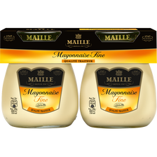 Mayonnaise fine MAILLE, 2x125g