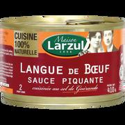 Maison Larzul Langue De Boeuf Sauce Piquante Maison Larzul, Boîte De 410g