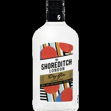 Gin Shoreditch London dry U, 37,5%, bouteille de 70cl