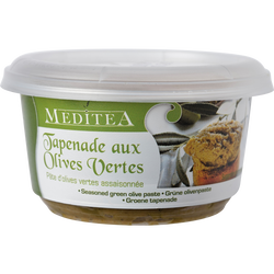 Tapenade aux olives vertes, pot 100g
