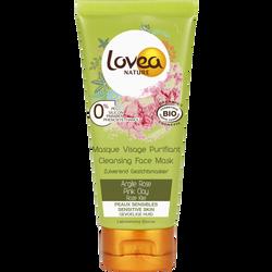 Masque pour le visage purifiant à l'argile rose LOVEA, 75ML