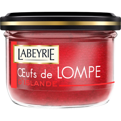 Oeufs de lompe rouges LABEYRIE, 80g