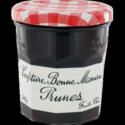 Confiture de prunes BONNE MAMAN, 370g