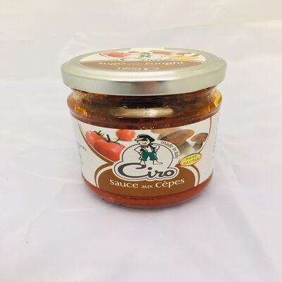 Sauce aux Cèpes - à base d'huile CIRO