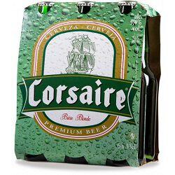 Bière blonde, CORSAIRE, 5,4°, le pack de 6x33cl