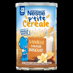 P'TITE CEREALE  biscuité vanille dès 12 mois  400g
