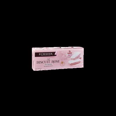 Biscuit rose de Reims FOSSIER, étui de 100g