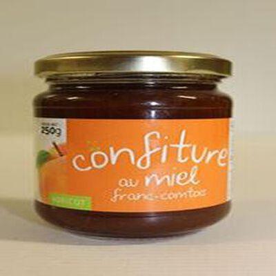 Confiture d'abricot au miel Franc-Comtois pot de 250g