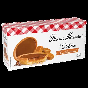 Bonne Maman Tartelettes Chocolat Au Lait Caramel Bonne Maman, 135g