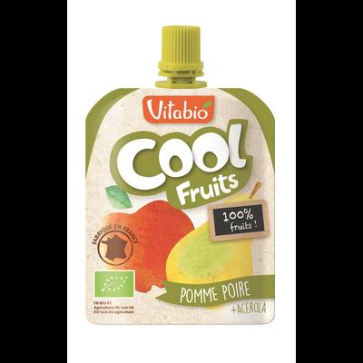 Cool Fruits Pomme Poire VITABIO, 90g
