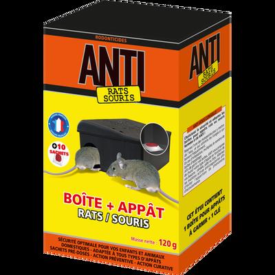 Appât-prévention ANTI, rats & souris, 120g