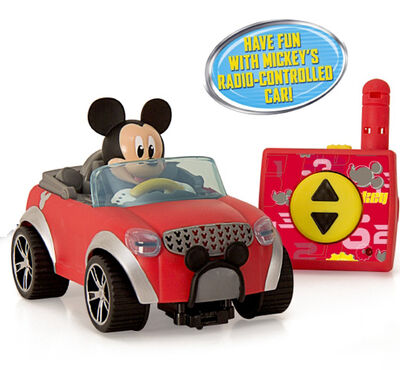 VOITURE RC MICKEY CITY FUN