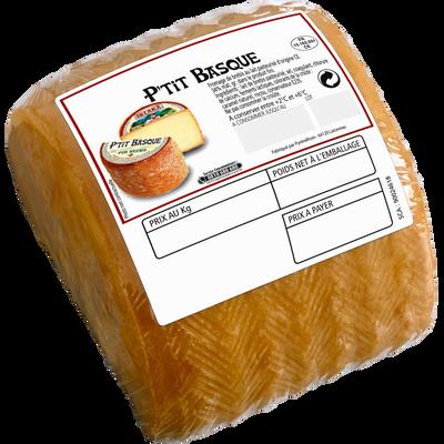 Fromage au lait pasteurisé de brebis petit Basque ISTARA 34%mg 330g environ