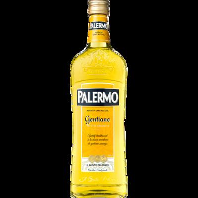 Apéritif sans alcool gentiane PALERMO, bouteille de 1l