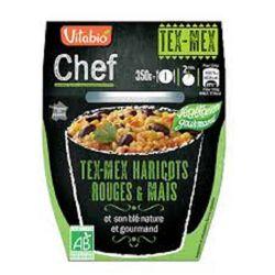 Chef Tex-Mex Haricots Rouges te maïs et son duo de blé gourmand bio Vitagermine 350g 1pers