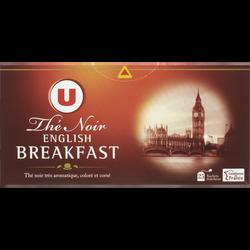 Thé English Breakfast U, boîte de 25 sachets, 50g