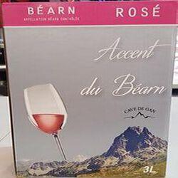AOC BEARN ROSE BIB 3 LITRES