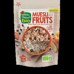 Muesli fruits  BIO TERRE & CEREALES, 375g