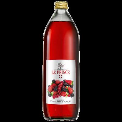 Pur jus de pomme et fruits rouges THOMAS LE PRINCE, 1 litre