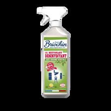 Nettoyant désinfectant 100% origine végétale , BRIOCHIN Ecocert, pistolet de 750ml