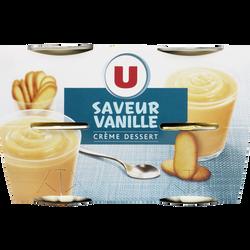 Crème dessert à la vanille U, boîtes de 400g
