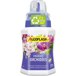 Engrais pour orchidées ALGOFLASH, 250ml