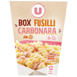 box fusilli carbonara U, 300g
