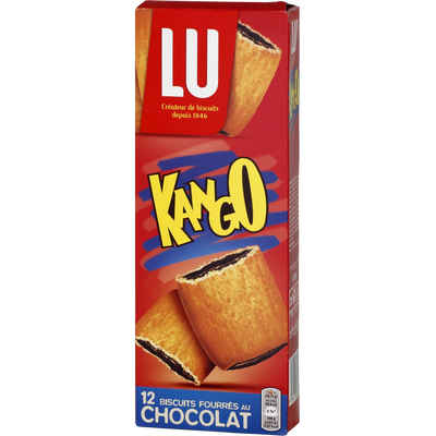 Goûters fourrés cacao Hello KANGO, 225g
