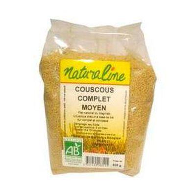 Couscous complet moyen NATURALINE, 500g