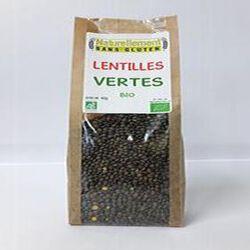 Lentilles vertes Bio NATURELLEMENT SANS GLUTEN 400G