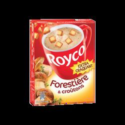 Délice forestière croutons ROYCO, étui de 3 sachets de 60cl