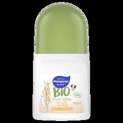 Deodorant lait d'avoine bio MONSAVON bille 50ml