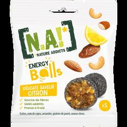 N.A! energy balls saveur citron, 40g