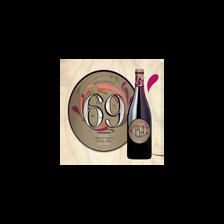 """Vin rouge AOP Beaujolais """"cuvée 69"""" M.Coquard, bouteille de 75cl"""