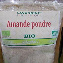 amande poudre bio 250g