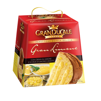 Panettone pur beurre gran limone GRANDUCALE, 750g